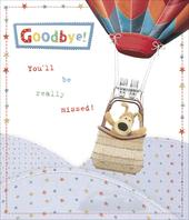 Boofle Goodbye You'll Be Missed Leaving Greeting Card