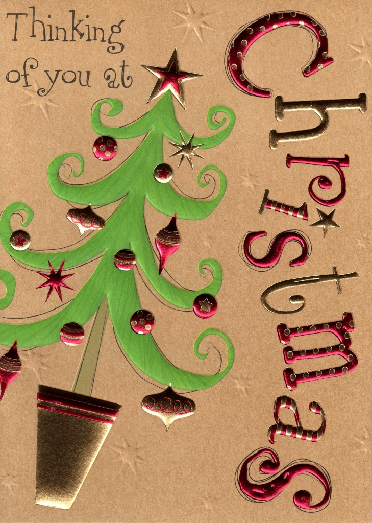 Thinking Of You At Christmas Card | Cards | Love Kates