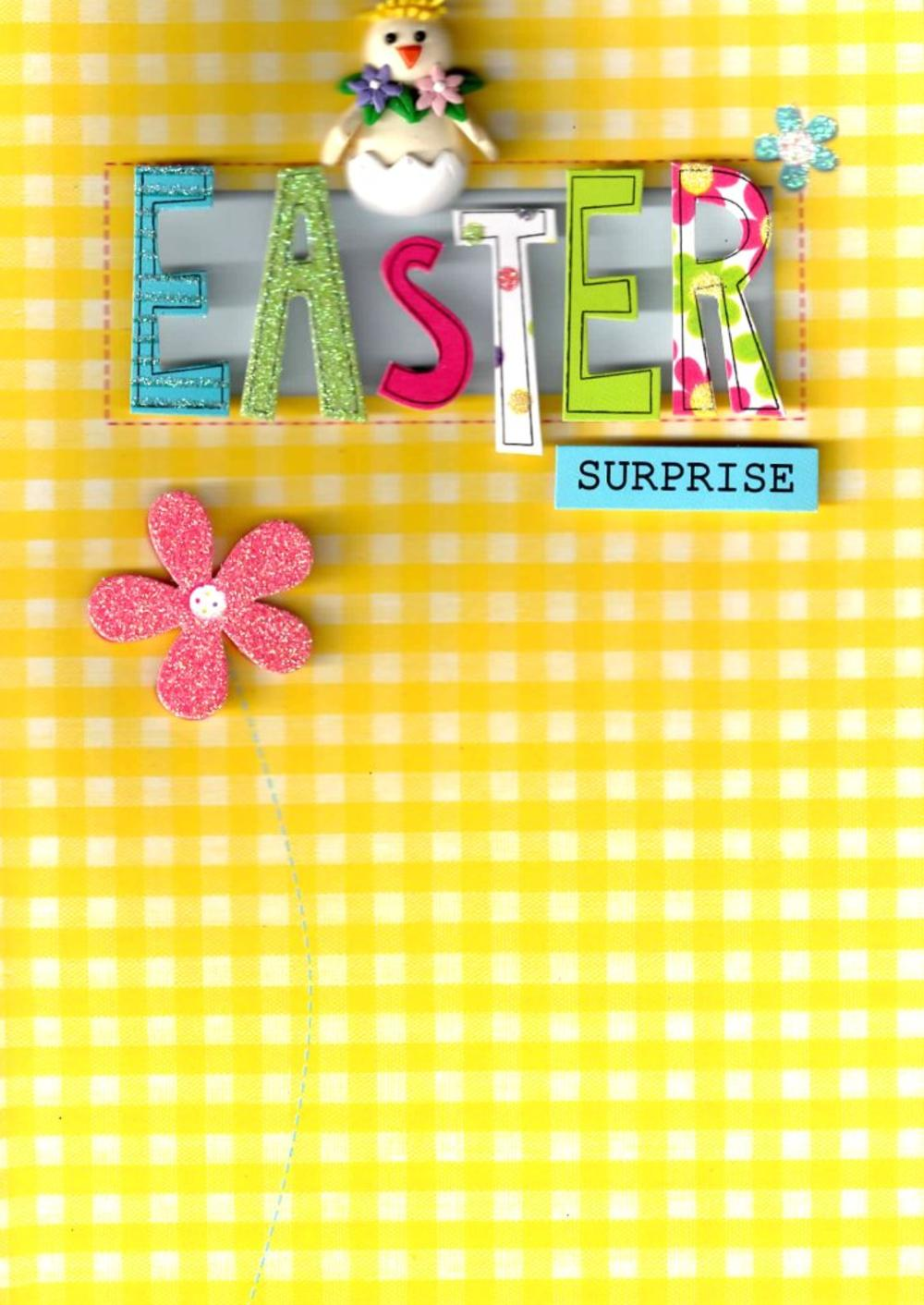 Easter Surprise Hand-Finished Card