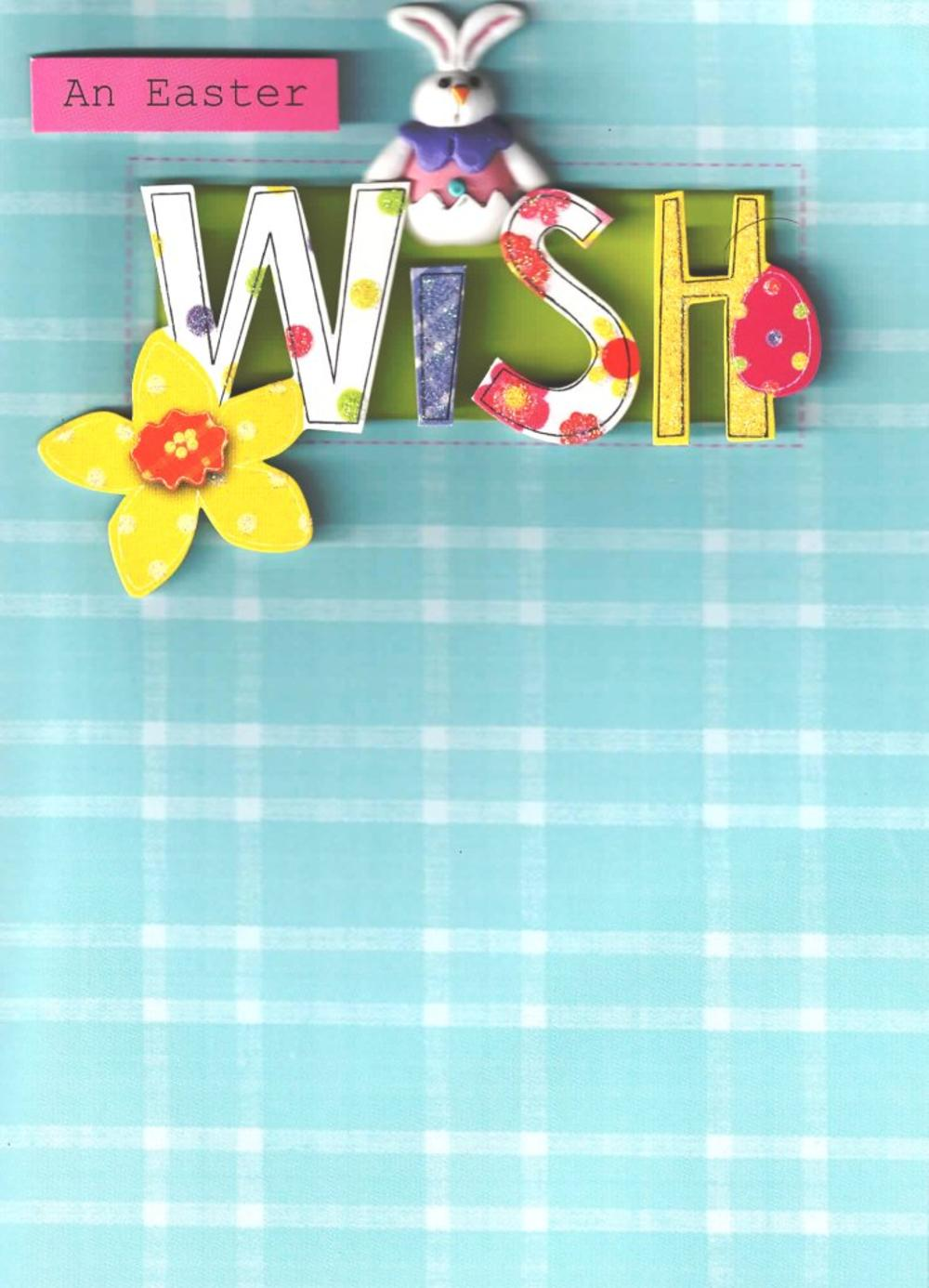 An Easter Wish Hand-Finished Card
