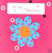 Handmade Pink Pineapple Valentine's Day Card