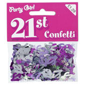 Pack Pink Party Girl Confetti Sprinkles 21st Birthday