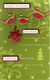 Special Happy Christmas Card