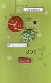 Special General Open Christmas Card