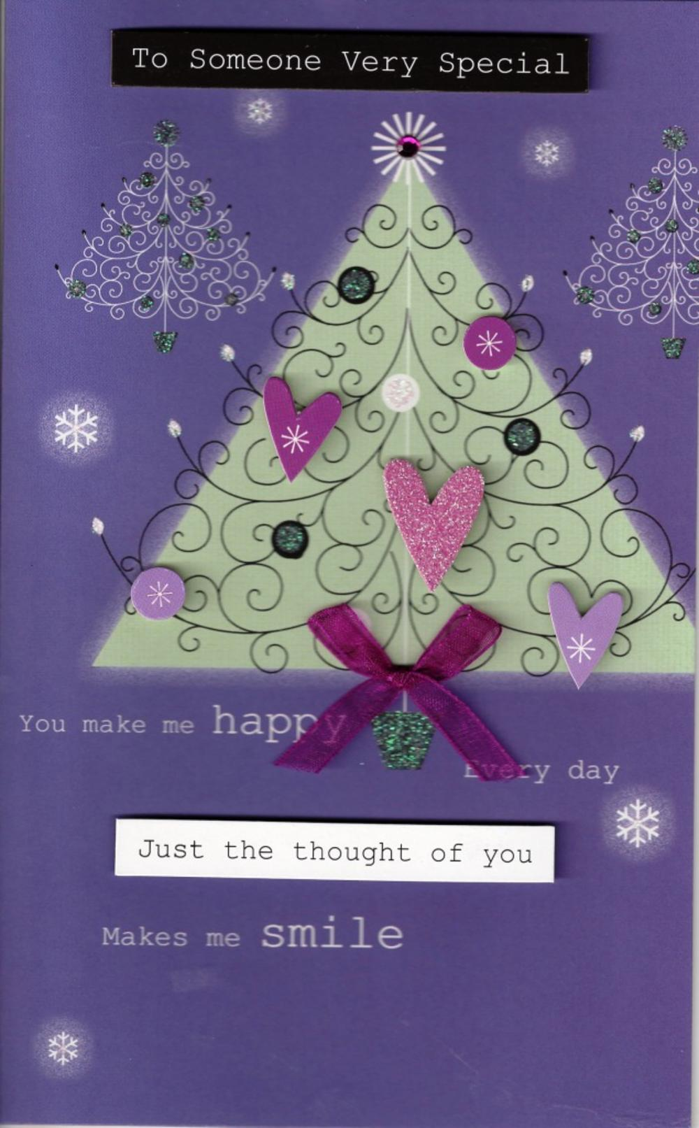 Someone very special christmas card cards love kates someone very special christmas card m4hsunfo