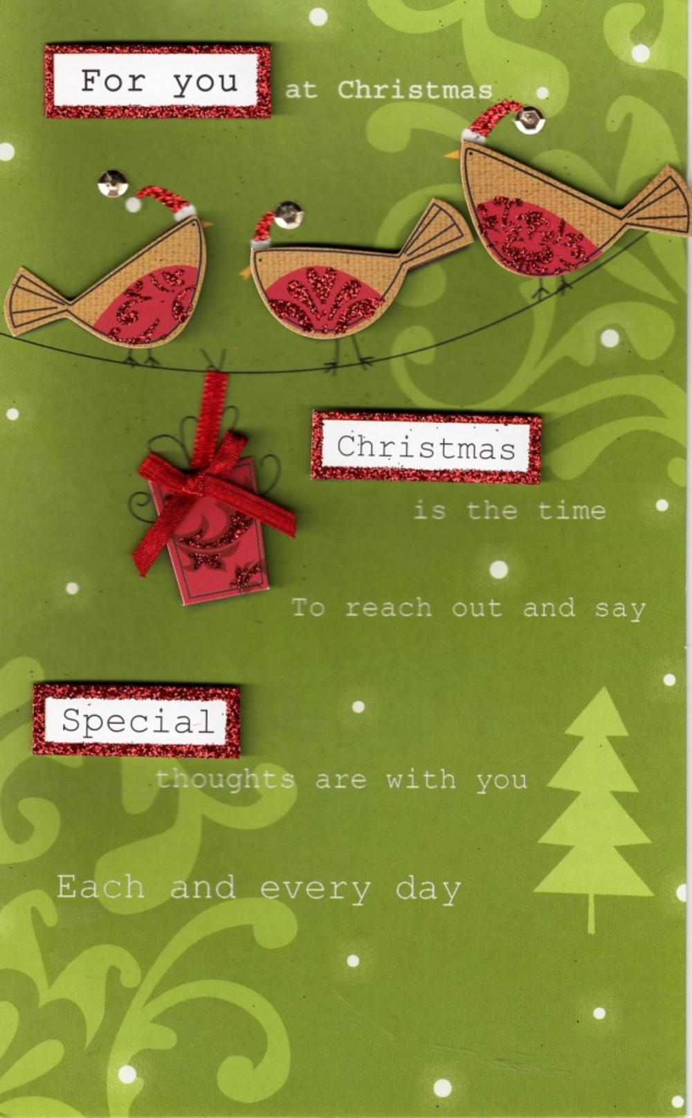 Special For You At Christmas Card
