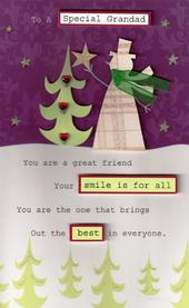 Special Grandad Christmas Card