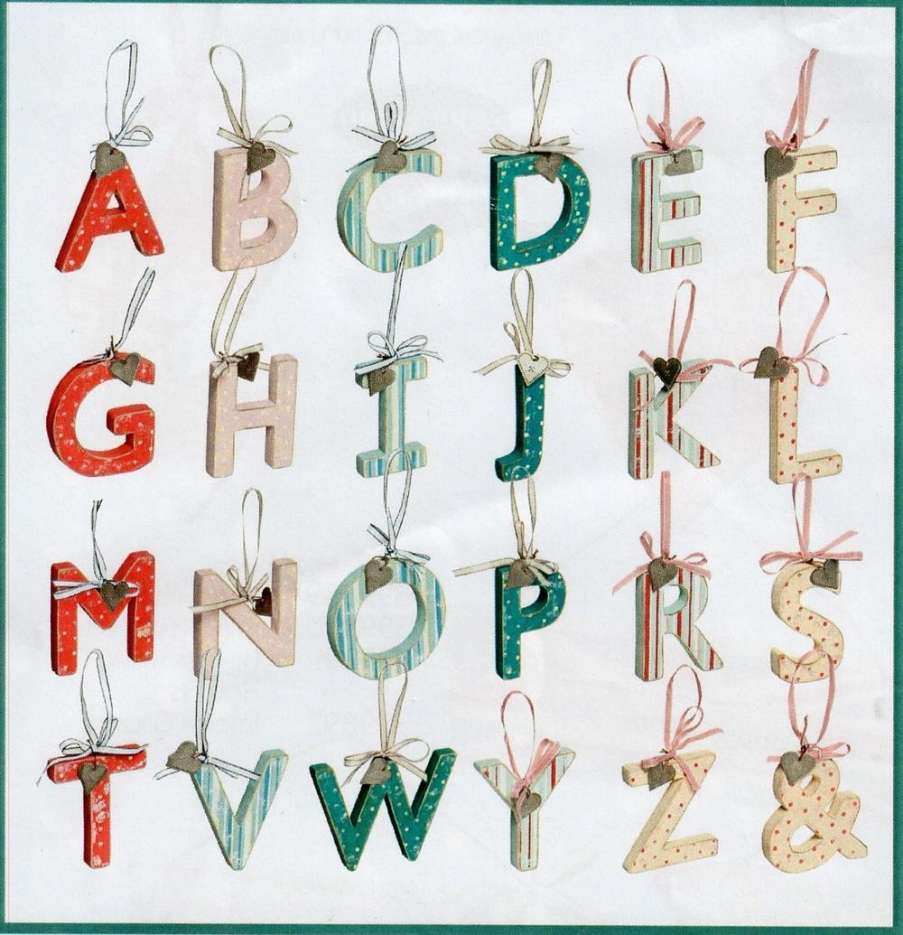 Wooden 'Love Home'  Range Hanging Letters