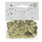 1 X Packet Metallic Gold Table Confetti Sprinkles Wedding Bells