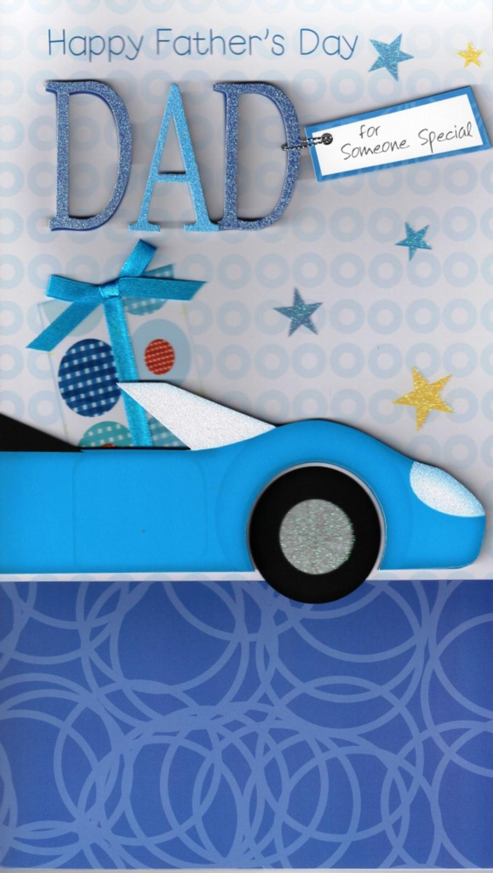 Dad Car Large Father's Day Card