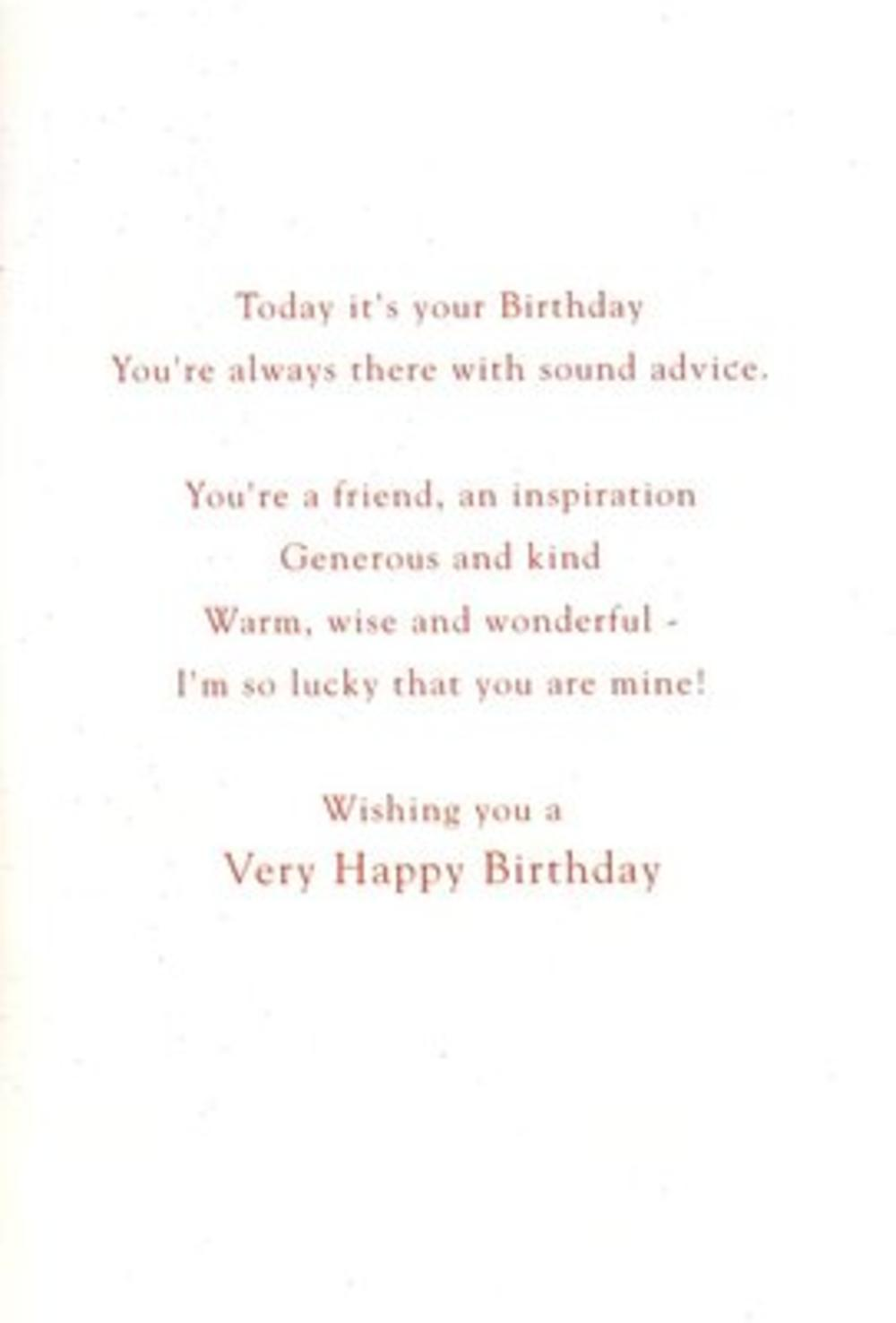 Grandad Birthday Poetry In Motion Card Cards – Short Poems for Birthday Cards