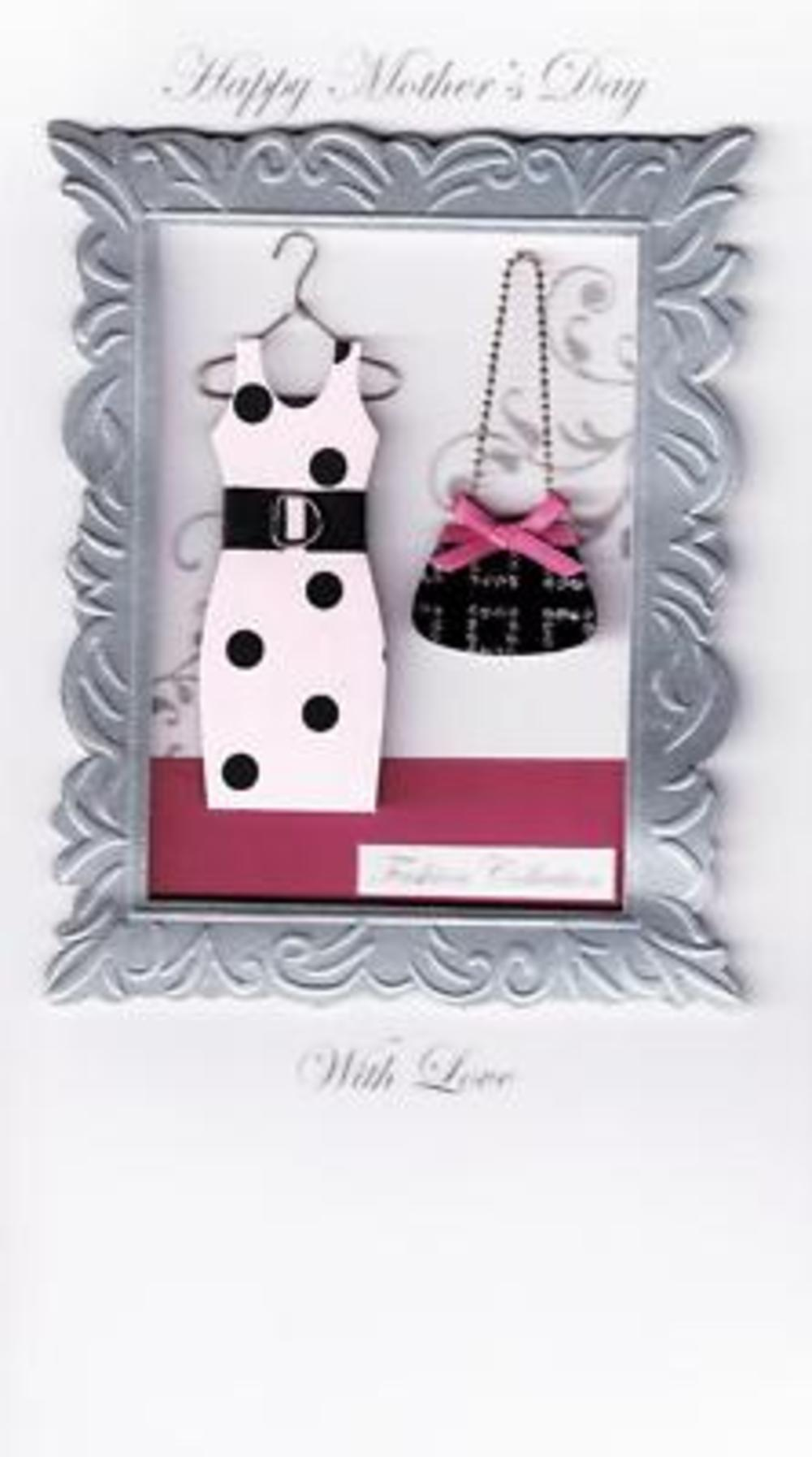 Stunning Handcrafted Mother's Day Cards Fashion Mum Card