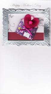 Handcrafted 3D Mother's Day Cards Sending You Love Card