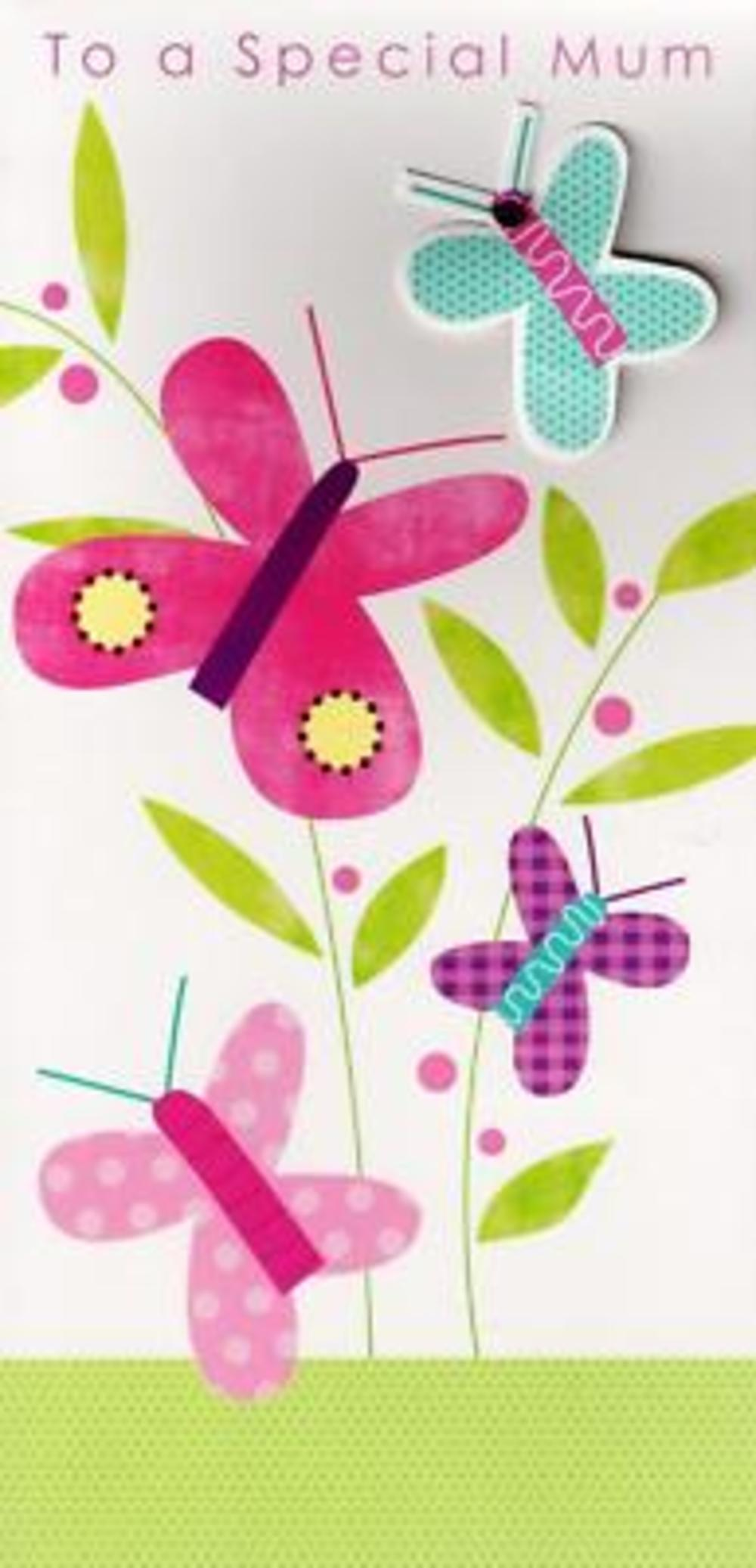 Special Mum Butterfly Mother's Day Card