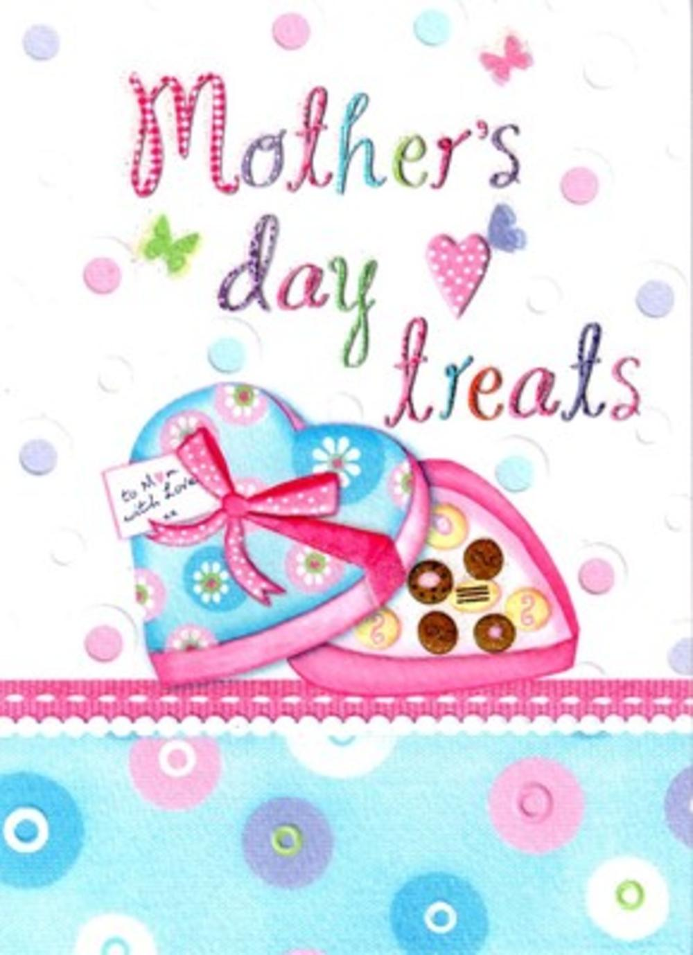 Lovely Treats Quality Mother's Day Greeting Card