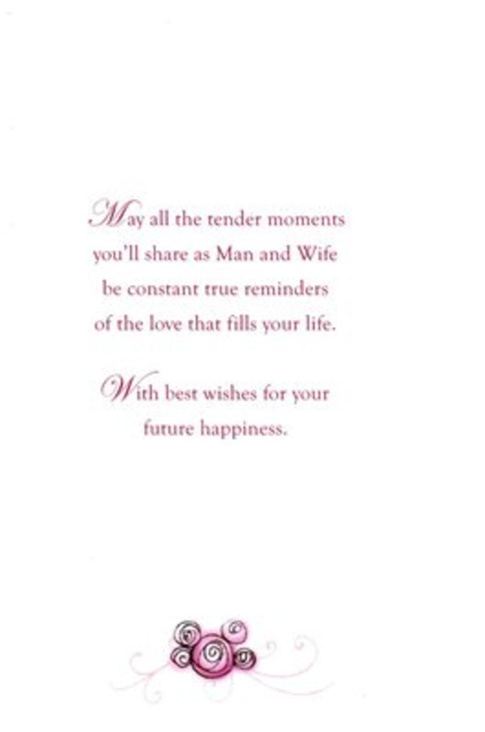 son amp wife poetry in motion wedding card cards love kates