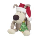 Boofle Wearing Santa Hat Large Plush Toy