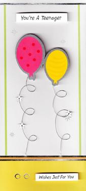 13th Teenager Birthday Greeting Card