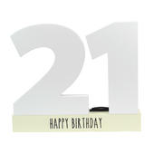 Age 21 Signature Block 21st Birthday Pen Included