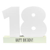 Age 18 Signature Block 18th Birthday Pen Included