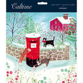 Cats Posting Letters Traditional Caltime Christmas Advent Calendar