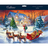 Santa Special Delivery Traditional Caltime Christmas Advent Calendar