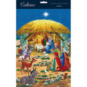 Xmas Nativity & 3 Kings Traditional Caltime Christmas Advent Calendar