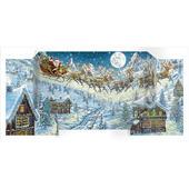 Santas Sleigh Freestanding Traditional Caltime Christmas Advent Calendar