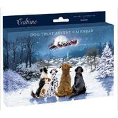 Pet Dog Xmas Advent Calendar Treat Behind Each Door
