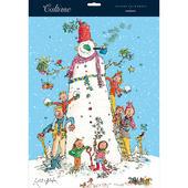 Quentin Blake Snowman & Friends Caltime Christmas Advent Calendar