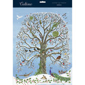 Xmas Birds In A Snowy Tree Caltime Christmas Advent Calendar