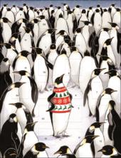 Proud Penguin In His Xmas Jumper Caltime Christmas Advent Calendar