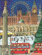 Emma Bridgewater London Skate At Xmas Caltime Christmas Advent Calendar