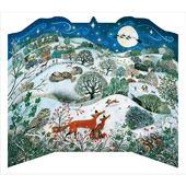 Xmas Moonlight Magic Santa & Sleigh Caltime Christmas Advent Calendar
