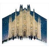 Snowy Milan Cathedral Maria Nascenti Caltime Christmas Advent Calendar