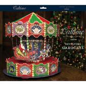 3D Traditional Santa Carousel & Pieces Caltime Christmas Advent Calendar
