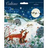 Christmas Meadow Advent Calendar Christmas Card