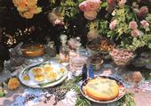 Blank Photo Art Summer Tea Greeting Card