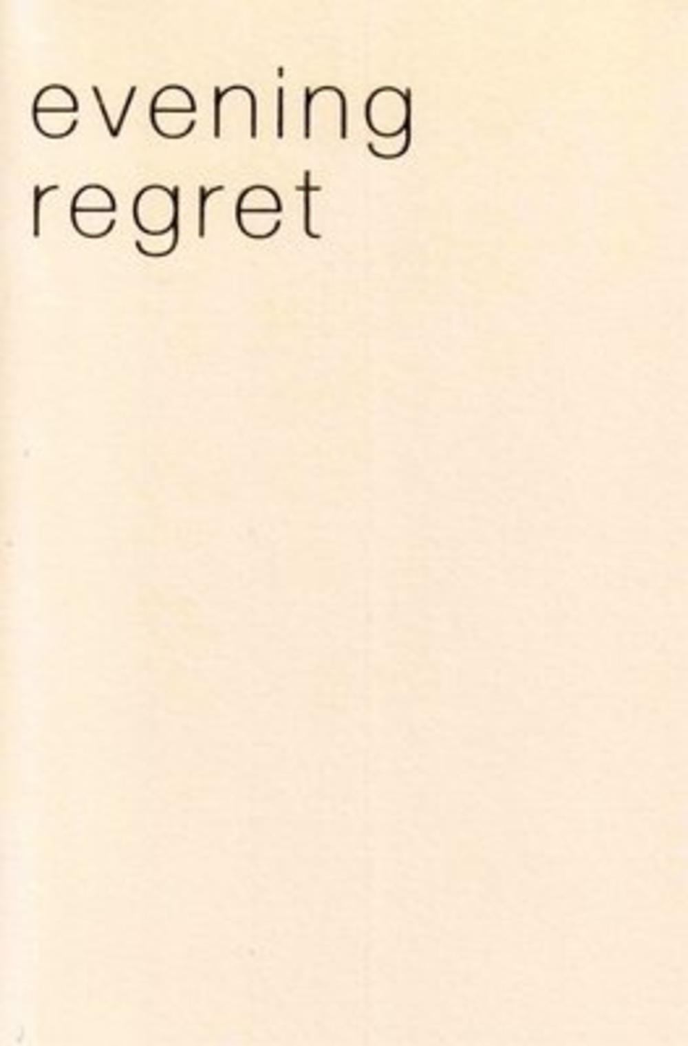 Evening Invitation Regret Greeting Card