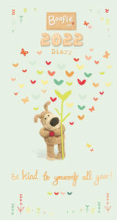 Boofle 2022 Be Kind All Year Pocket Diary