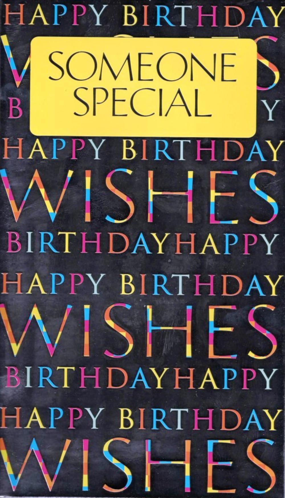 Large Someone Special Happy Birthday Card