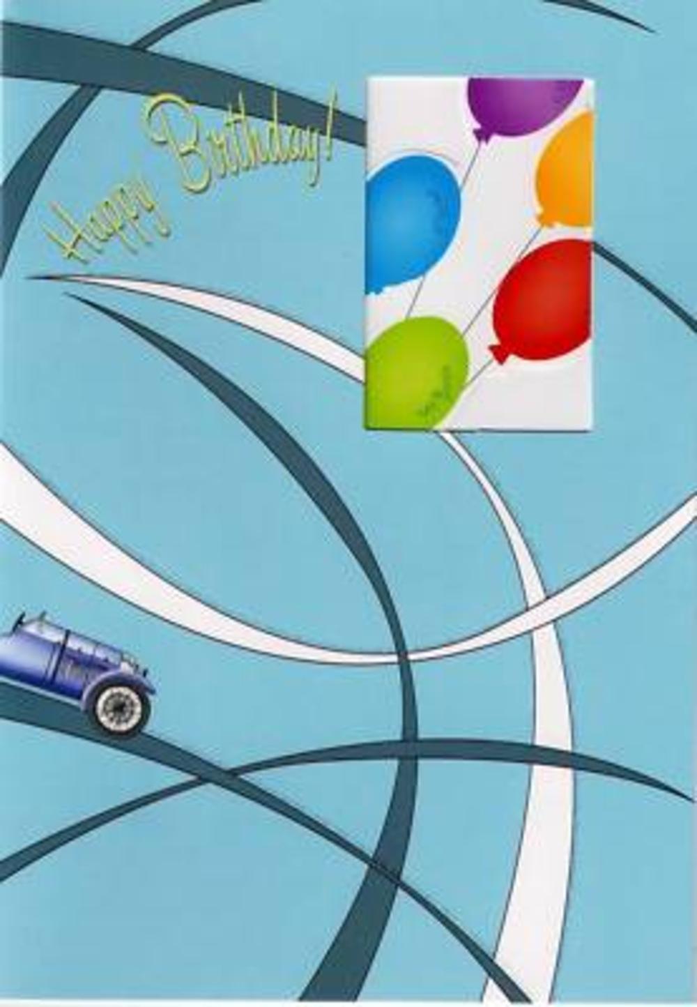 Luxury 3D Greeting Cards Birthday Card Pop Up Car Cars