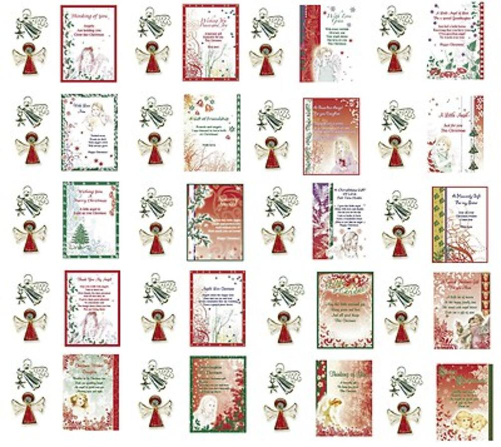 Christmas Angel Pins Ask Angels Sentimental Pin Gifts