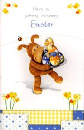 Boofle  Have a Yummy Easter Card