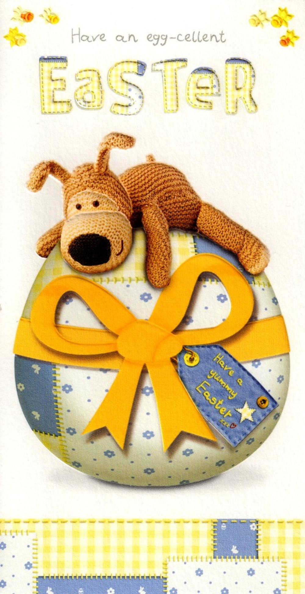 Boofle Egg-Cellent Easter  Card