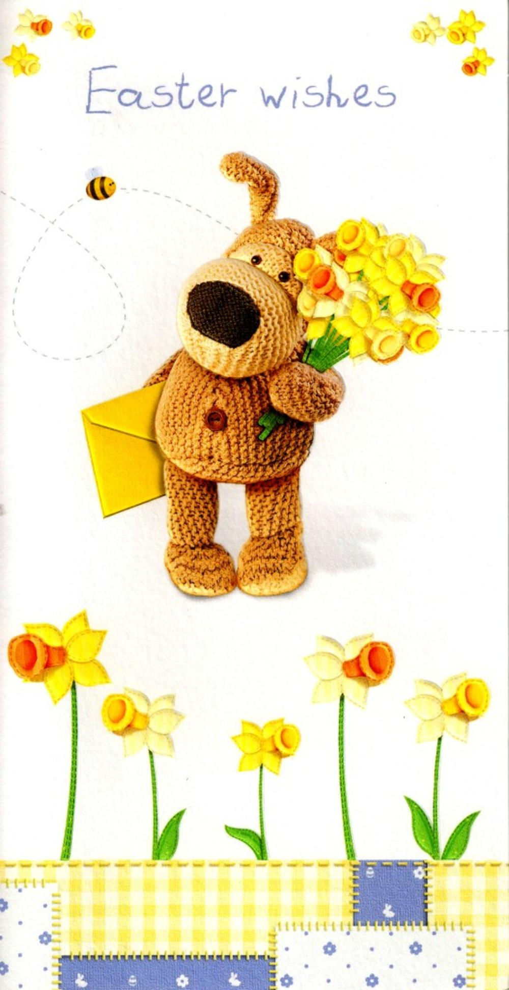 Boofle Easter Wishes Easter Card