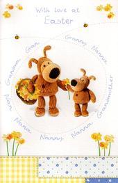 Boofle Gran Nan Nana Granny Easter Card