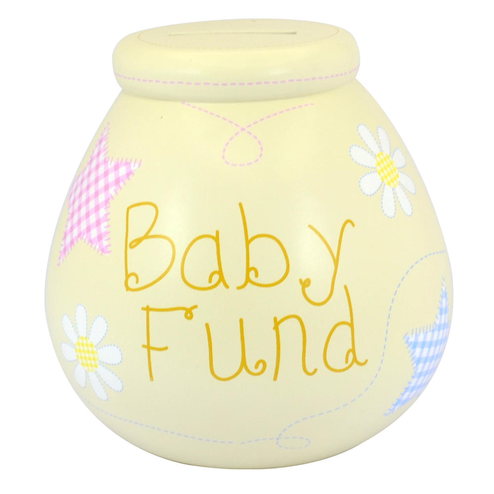 Baby Fund Pots of Dreams Money Box Pot