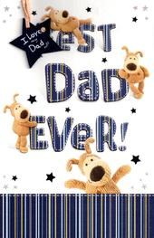 Boofle Best Dad Ever Father's Day Card