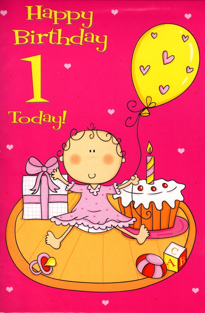 1 Today Special Age Baby 1st Birthday Card Cards Love Kates